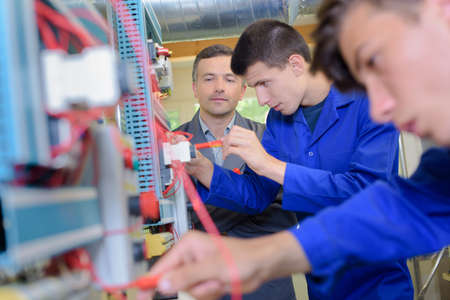electrics: fixing the wirings