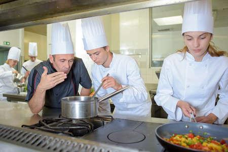 chef kitchen: in the kitchen