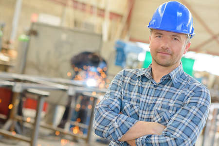 Portrait of workman