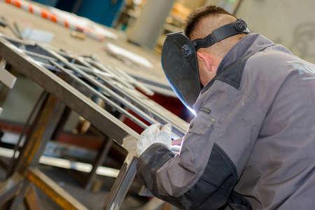 standard steel: welder welding