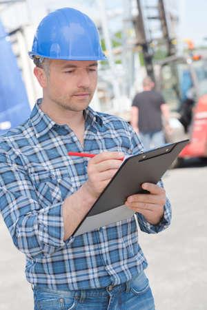 man writing: man writing Stock Photo