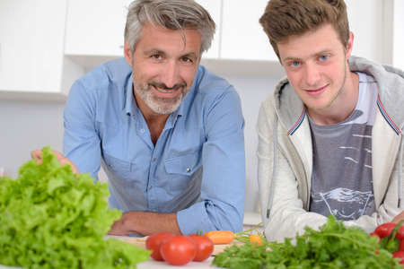 favored: men and their vegetables