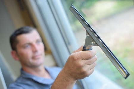 glasscheibe: Fensterreiniger