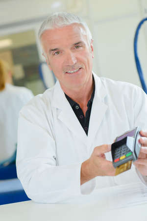tranfer: payment Stock Photo