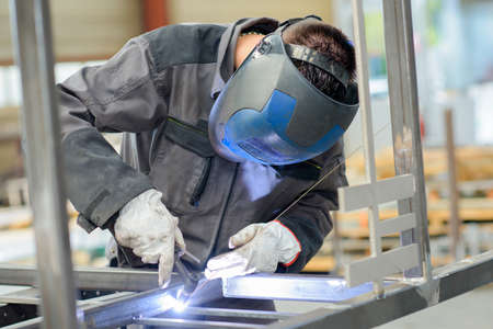 welder with blow torch Stock Photo - 52979707