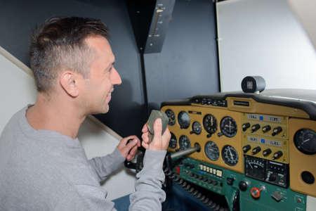 simulator: simulator Stock Photo