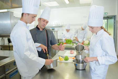 kulinarne: machnięcie Zdjęcie Seryjne