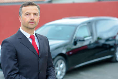 limousine and hearse driver Stock Photo - 52979522