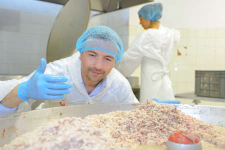 processing: food processing Stock Photo