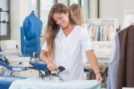 smoothen: girls ironing