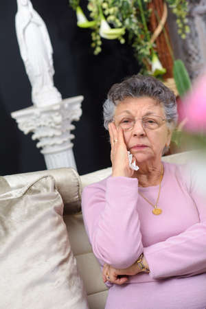 sorrowful: sorrowful lady