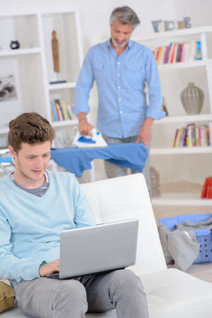 smoothen: ironing
