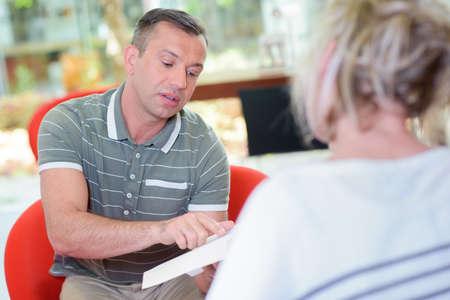 persuades: having a conversation