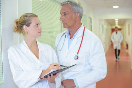 disobey: doctors on the hallway