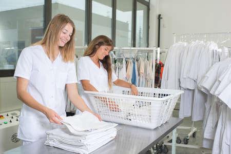 segregate: laundry girls