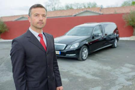 hearse: limo driver