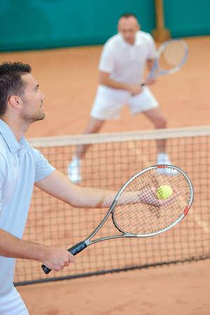 siervo: servicio de tenis