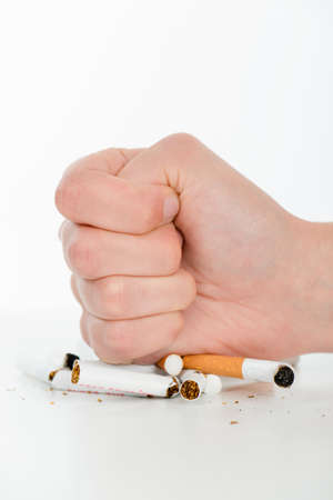 quiting: Determined to quit smoking