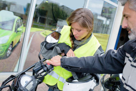 Apprendre a conduire moto