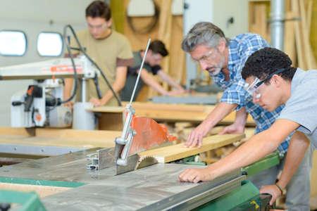 safety googles: carpentry school