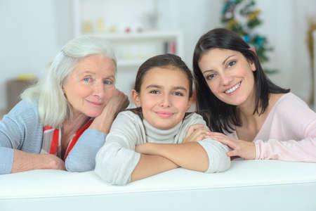 three generation: Three generation together