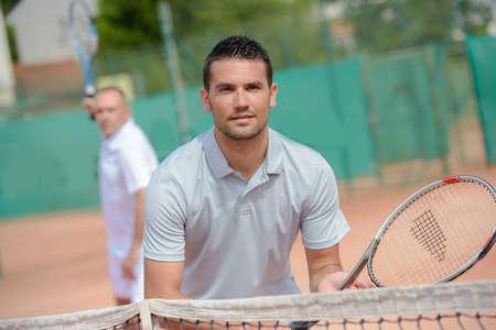 siervo: seria playert tenis Foto de archivo