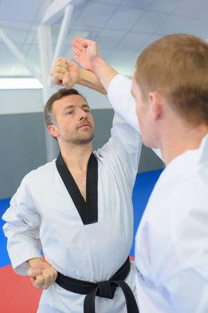 mortal danger: Judo moves