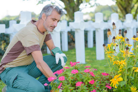 burial: cleaning the burial ground