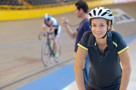 racing bicycle: preparing for the cycling competition