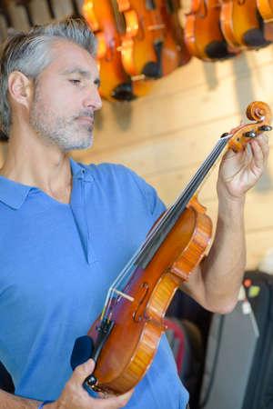 violins: manufacturing of violins