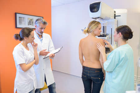 breast examination: finding the cause of sickness