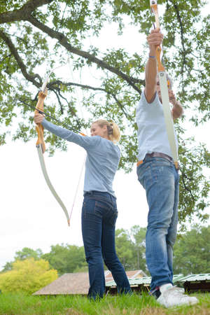 sportsmanship: the traditional hunting Stock Photo