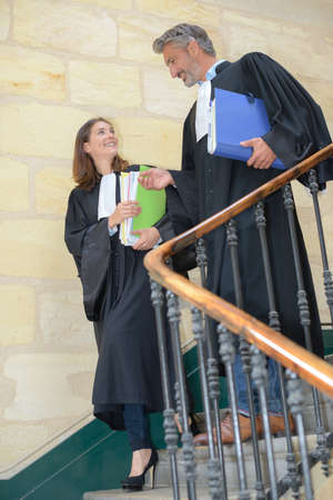 magistrates: Magistrates decending staircase