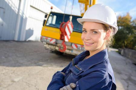 coordinacion: Mujer sonriendo trabajador