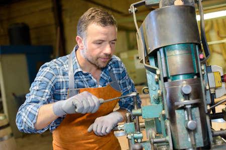 machinist: machinist inworkshop