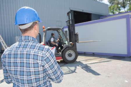 carga: el transporte de carga pesada