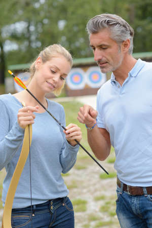 sportsmanship: learning to put the arrow properly