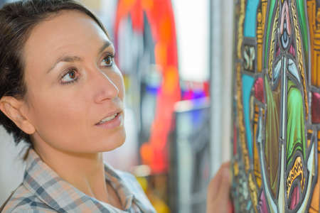glasswork: buying a stained glass frame