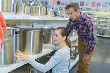 voluminous: looking at pots and pans