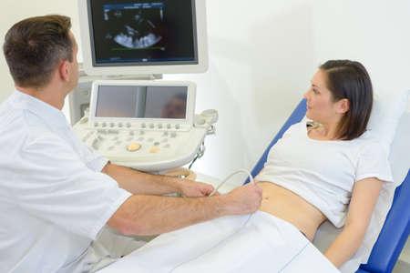 sound therapist: first trimester ultrasound