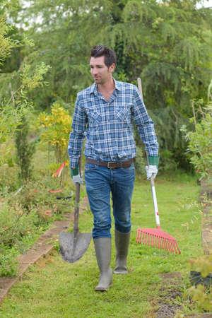 spade: bringing spade and rake