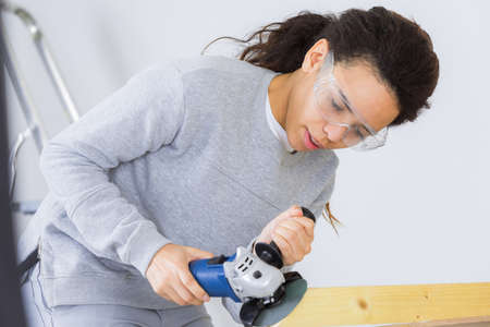cabinetry: the busy woman worker