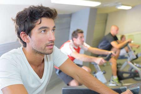 racetrack: men in health club
