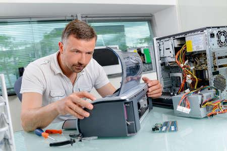 looker: computer technician