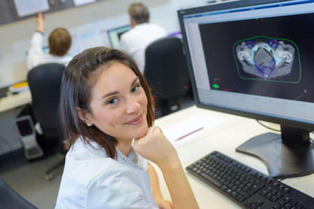 physicists: radiation monitoring staff