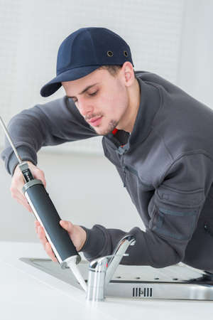 resistant: applying water resistant glue