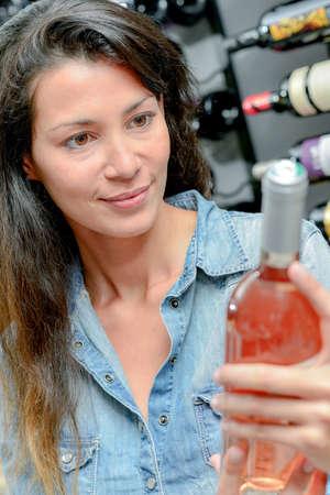moderation: rose wine Stock Photo