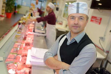 farm duties: supermarket butcher department
