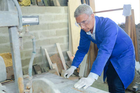 stonemason: Stonemason at work