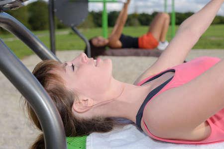 women having a workout